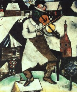 Fiddler by Marc Chagall